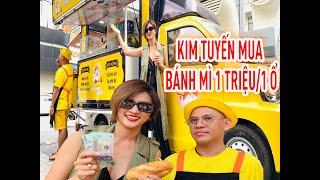 Chuyến xe nụ cười: Kim Tuyến mua bánh mì của Colorman 1 triệu/1 ổ | Kim Tuyến Official