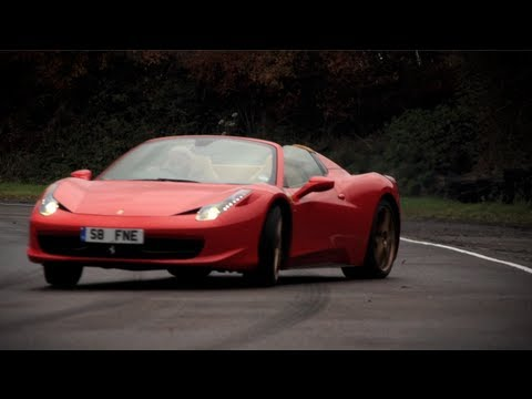 Ferrari 458 Spider Track Tested