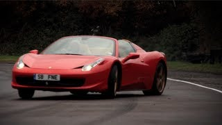 Ferrari 458 Spider Nailed - /CHRIS HARRIS ON CARS