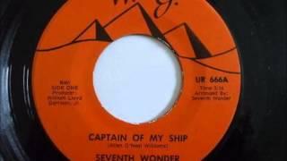 Seventh Wonder ...Captain of my ship .   1976 .