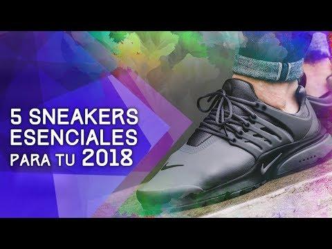 5 Sneakers/Tenis para hombre 2018 | Moda Masculina