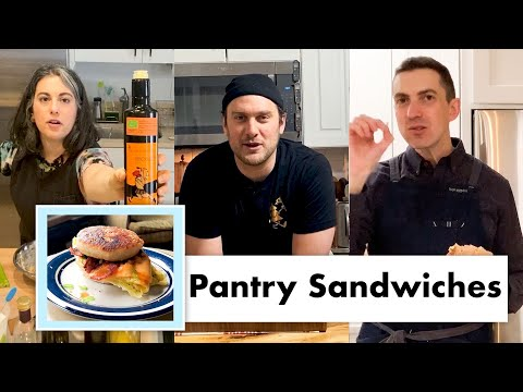 PRO CHEFS MAKE 9 KINDS OF PANTRY SANDWICHES | TEST KITCHEN TALKS @ HOME | BON APPÉTIT