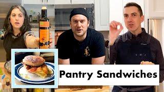 PRO CHEFS MAKE 9 KINDS OF PANTRY SANDWICHES   TEST KITCHEN TALKS @ HOME   BON APPÉTIT