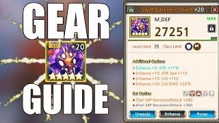 Kings Raid - Gear Options/Substats Guide
