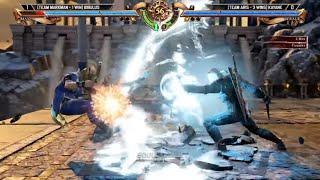 Soulcalibur 6 - Geralt vs Maxi High Level Gameplay