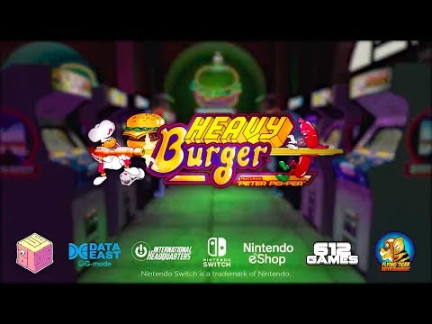 Johnny Turbo's Arcade: Heavy Burger Trailer for Nintendo Switch thumbnail
