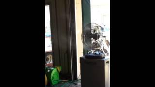 Versamist Fan - Large   A&S Play Zone   Cooling Fans Misting Fans Dayton Columbus Cincinnati