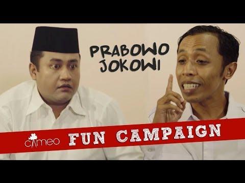 CAMEO Fun Campaign: Jokowi vs Prabowo