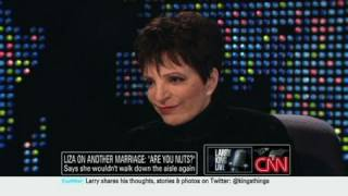 CNN Offical Interview: Liza Minnelli on marriage and Judy Garland