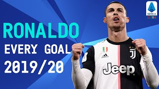 All 31 Cristiano Ronaldo Serie A Goals | Season 2019/20 | Serie A TIM