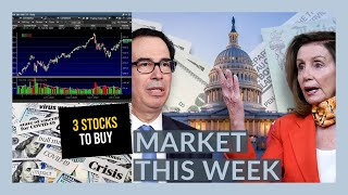 THE STOCK MARKET IS NOT GOING TO GO CRAZY THIS WEEK! - My Watchlist - 3 STOCKS IM BUYING NOW!!