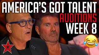America's Got Talent 2019 Auditions | WEEK 8 | JUDGE CUTS | Got Talent Global