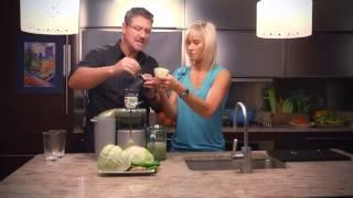 Cabbage & Ginger Green Detox Juice