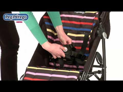 Paragüita Mini Pliko Peg Perego negro video