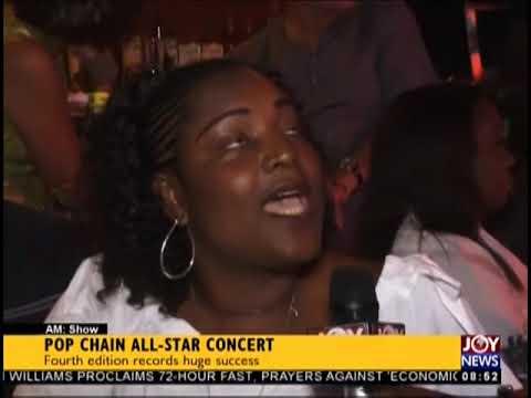 Pop Chain All-Star Concert - AM Showbiz on JoyNews (1-10-18)