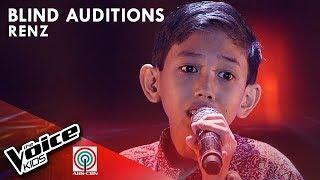 Renz - Bukas Na Lang Kita Mamahalin | Blind Auditions | The Voice Kids Philippines Season 4