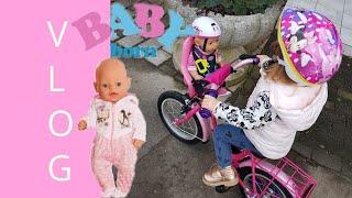 Vlog   mit Baby Born on Tour   Gordon lernt Waveboard fahren  mit.liebe.zum.detail