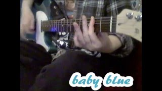 baby blue - joan jett - uke player on guitar!