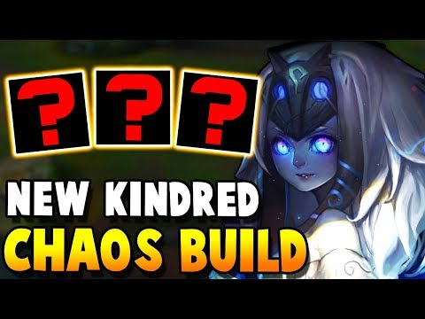 I'm gonna try this Super Weird Kindred build in this HIGH CHALLENGER game - Challenger to RANK 1