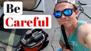 Best Car Detailing Vacuum: Dangers of the 4 Gallon Rigid Shop Vac!