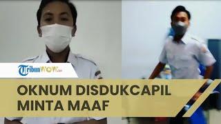 Setelah Viral Terlibat Keributan dengan Ketua RT, Oknum Honorer Disdukcapil Palembang Minta Maaf