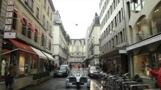 Formule E: une course auto 100% électrique en Suisse? Video Preview Image
