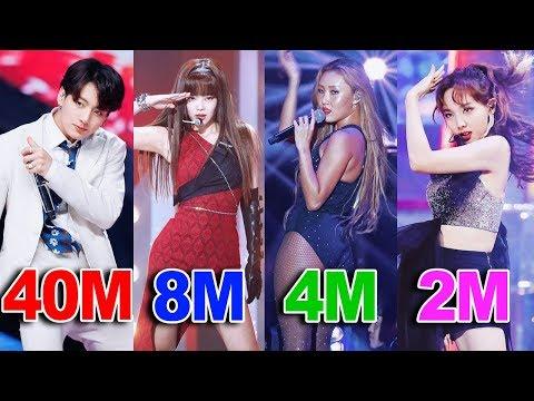 TOP 50 Most VIEWED K-Pop FANCAMS of 2019! (видео)
