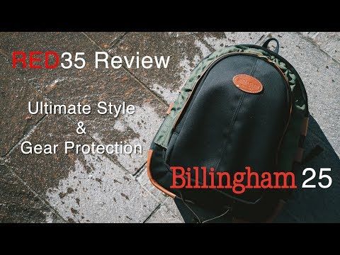 Billingham 25 Camera Rucksack - RED35 Review