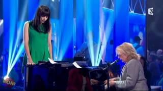 Nolwenn Leroy & Christophe - Les mots bleus (extrait) - Chabada