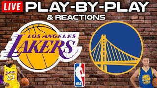 Los Angeles Lakers vs Golden State Warriors   Live Play-By-Play & Reactions
