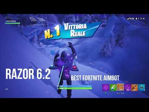 FORTNITE RAZOR 5 0 BEST AIMBOT AIM ASSIST ABUSE CRONUSMAX