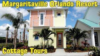 Margaritaville Resort Orlando Vacation Cottage Tours - Four Different Cottages, 1-4 Bedrooms 3/26/18