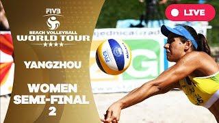 Yangzhou 4-Star - 2018 FIVB Beach Volleyball World Tour – Women Semi Final 2