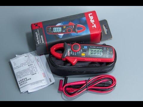 UNI-T UT210E Digital Auto Range 2000Counts True RMS Clamp Multimeter Clamp