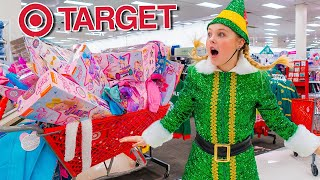 SPARKLE THE ELF GOES TO TARGET!! (First time!)