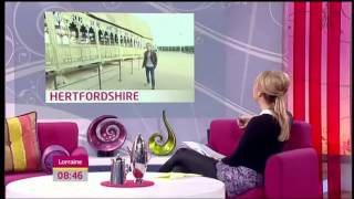 Том Фелтон, Tom Felton at ITV's Lorraine on 30.3.2012