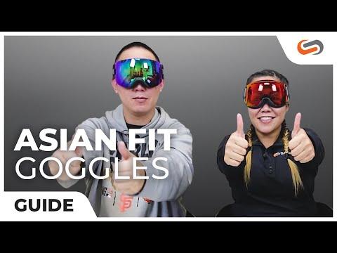 Asian Fit Snow Goggles Explained | SportRx.com