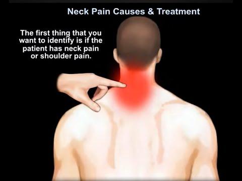 Badanie kręgosłupa szyjnego obejmujące szyję i kończynę górną