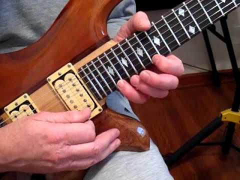 Wildfire Electric Guitar Solo Intro Lesson.wmv