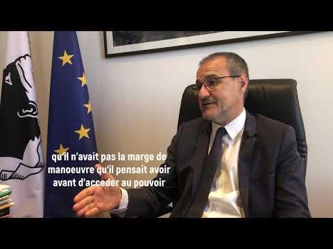 VIDEO. SANS LANGUE DE BOIS : Jean Guy Talamoni, Président de l'Assemblée de Corse