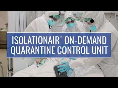 Video thumbnail for IsolationAir® On-demand Quarantine Control Unit