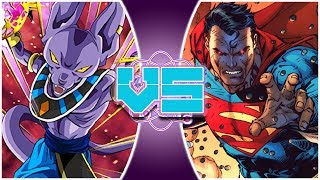 BEERUS vs SUPERMAN! (Pre-Crisis) (Dragon Ball Fan Animation) | REWIND RUMBLE BONUS