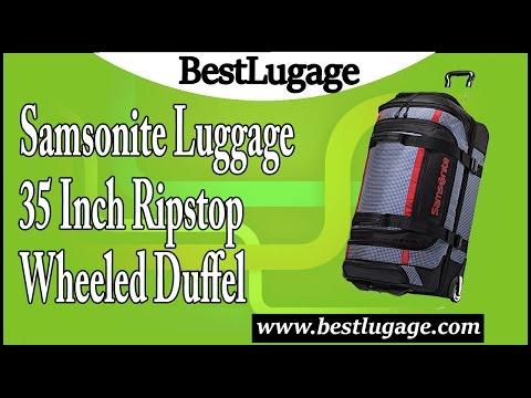 Samsonite Luggage 35 Inch Ripstop Wheeled Duffel Review