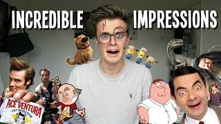 INCREDIBLE IMPRESSIONS! (Kind of...)