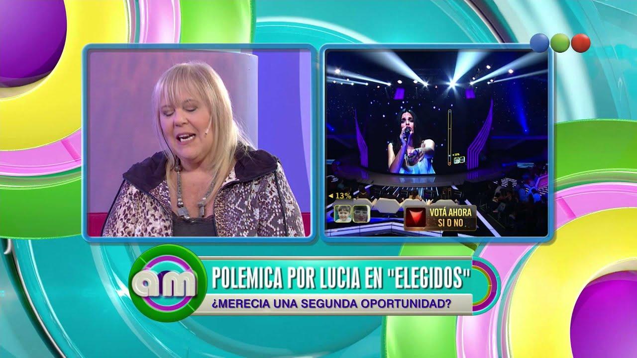 Polémica por Lucía de Elegidos, debate – AM 2015 #Elegidos