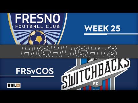 Fresno - Колорадо Спрингс 2:1. Видеообзор матча 25.08.2019. Видео голов и опасных моментов игры