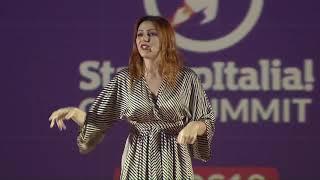Hedy Lamarr raccontata in 10 minuti da Gabriella Greison sul palco del Palazzo del Ghiaccio 17/12/18