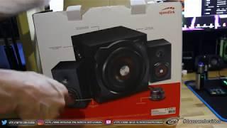 Speedlink Gravity Carbon 2.1 Sound System(HD) # Mit Bluetooth