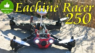 ✔ Eachine Racer 250 - Обзор на Русском! Популярный квадрокоптер для FPV! Banggood
