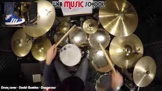 David Guetta   Dangerous   DRUM COVER